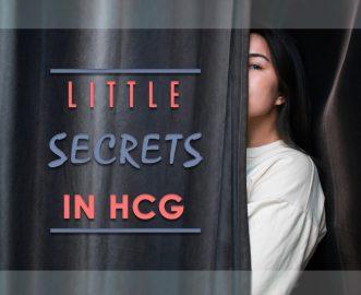 LITTLE SECRETS IN HCG