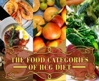 THE FOOD CATEGORIES OF HCG DIET