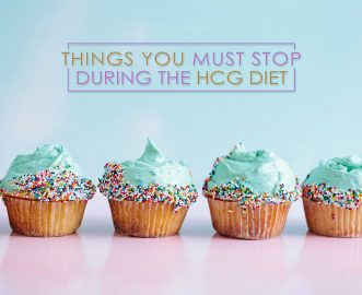 THINGS YOU MUST STOP DURING THE HCG DIET