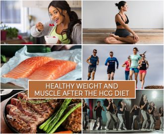 HEALTHY WEIGHT AND MUSCLE AFTER THE HCG DIET