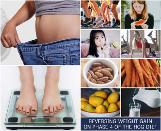 REVERSING WEIGHT GAIN ON PHASE 4 OF THE HCG DIET