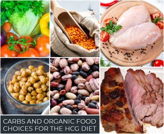 CARBS AND ORGANIC FOOD CHOICES FOR THE HCG DIET