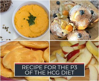 RECIPE FOR THE P3 OF THE HCG DIET
