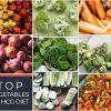 TOP VEGETABLES FOR HCG DIET
