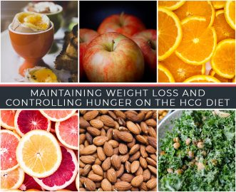 MAINTAINING WEIGHT LOSS AND CONTROLLING HUNGER ON THE HCG DIET