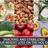 SNACKING AND STABILIZING YOUR WEIGHT LOSS ON THE HCG DIET