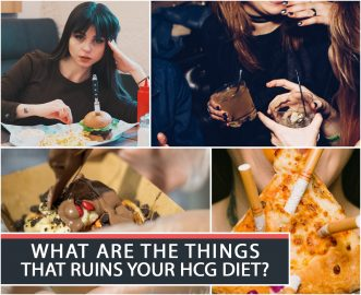 WHAT ARE THE THINGS THAT RUINS YOUR HCG DIET?