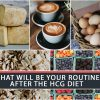 WHAT WILL BE YOUR ROUTINE AFTER THE HCG DIET