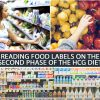 READING FOOD LABELS ON THE SECOND PHASE OF THE HCG DIET