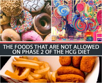 THE FOODS THAT ARE NOT ALLOWED ON PHASE 2 OF THE HCG DIET