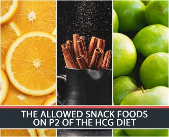 THE ALLOWED SNACK FOODS ON P2 OF THE HCG DIET
