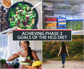 ACHIEVING PHASE 2 GOALS OF THE HCG DIET