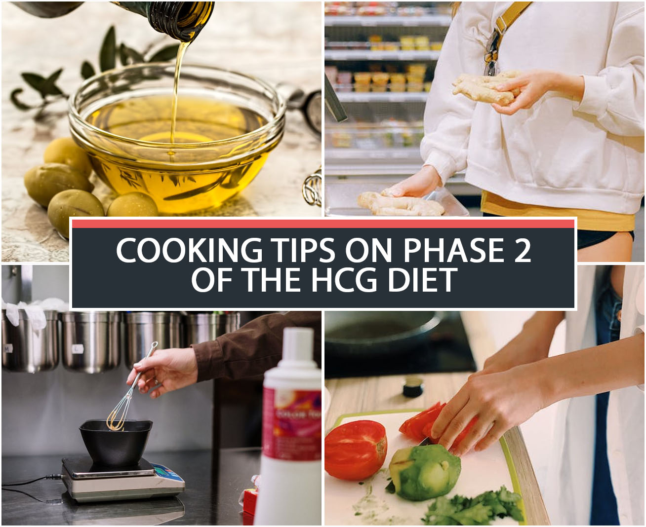 COOKING TIPS ON PHASE 2 OF THE HCG DIET