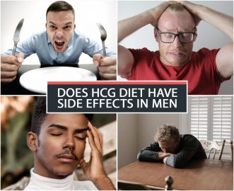 DOES HCG DIET HAVE SIDE EFFECTS IN MEN?