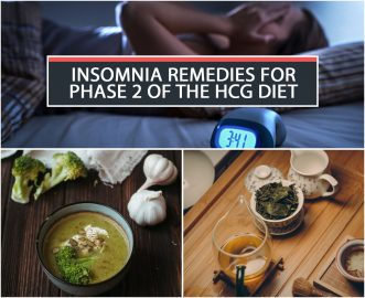 INSOMNIA REMEDIES FOR PHASE 2 OF THE HCG DIET