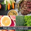 THE HCG DIET FOOD LIST