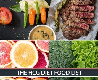 THE HCG DIET FOOD LIST