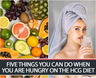 FIVE THINGS YOU CAN DO WHEN YOU ARE HUNGRY ON THE HCG DIET