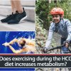 Does exercising during the HCG diet increases metabolism