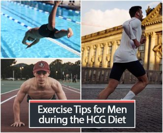 Exercise Tips for Men during the HCG Diet