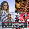 FAQs on the 800 calorie version of the HCG diet