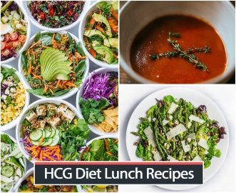 HCG Diet Lunch Recipes