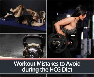 Workout Mistakes to Avoid during the HCG Diet